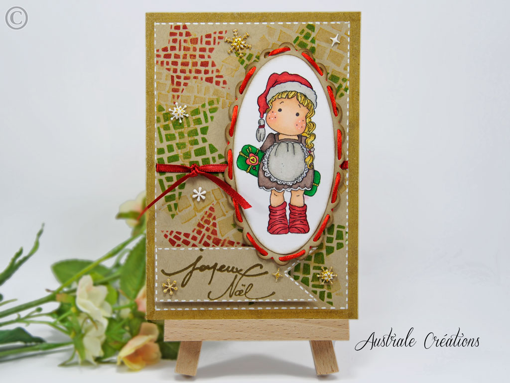 Carte : Tilda Joyeux Noel