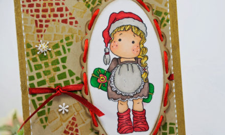Carte : Tilda de Noël