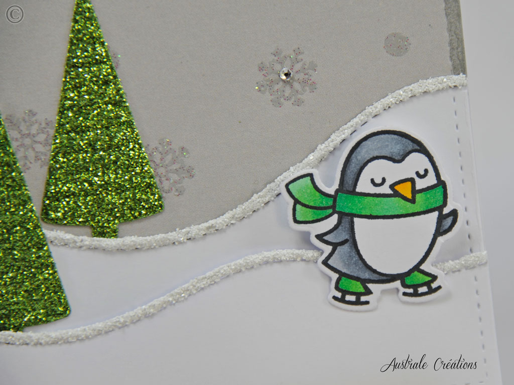 Carte Winter Penguin V2