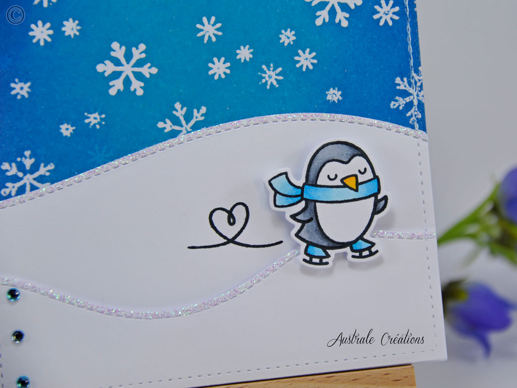 Carte Winter Penguin