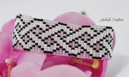 Bracelet Loom «Croisillons»