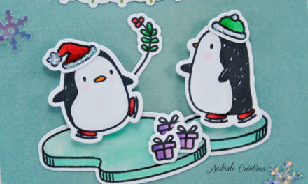 Carte : Christmas Penguin