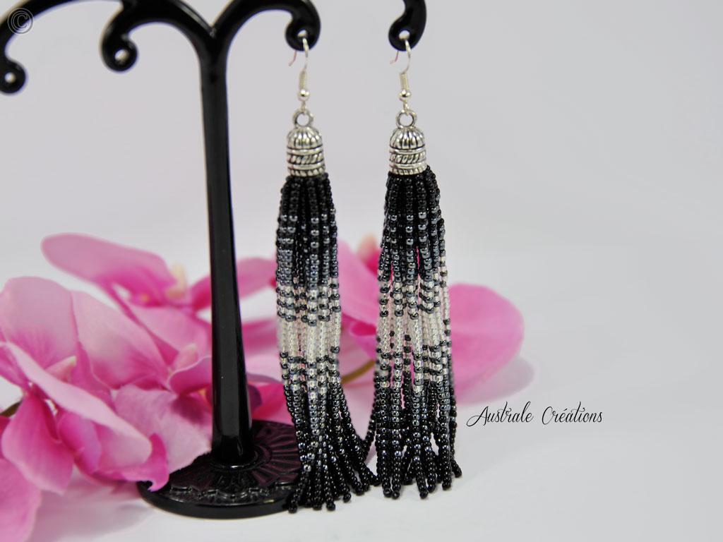 Boucles d'oreilles Beads Tassel