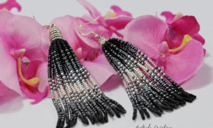 Boucles d'oreilles «Beads Tassels»