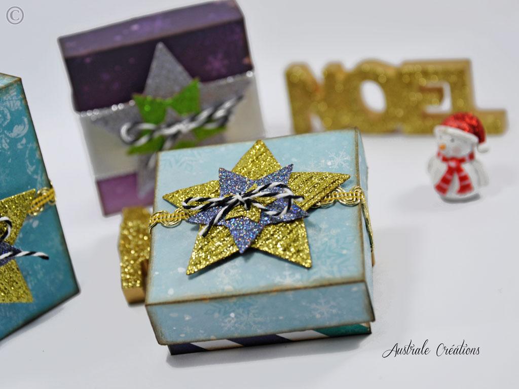 Boite cadeaux Noel