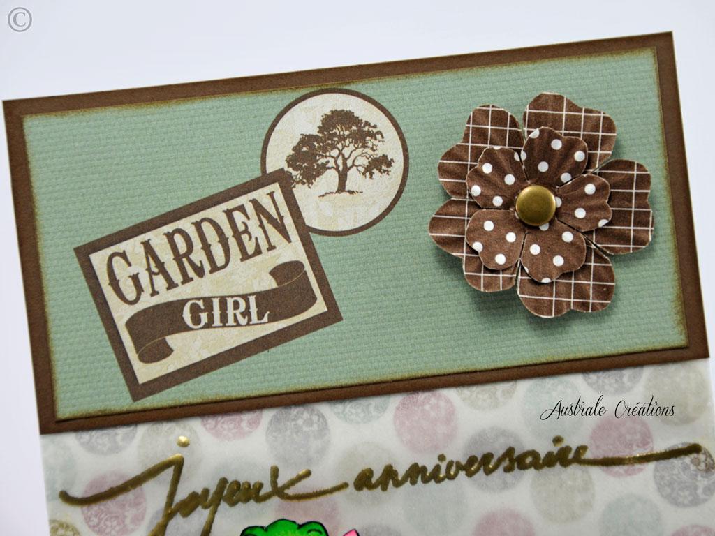 Carte : Garden Girl