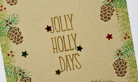 Carte : Jolly Holly Days
