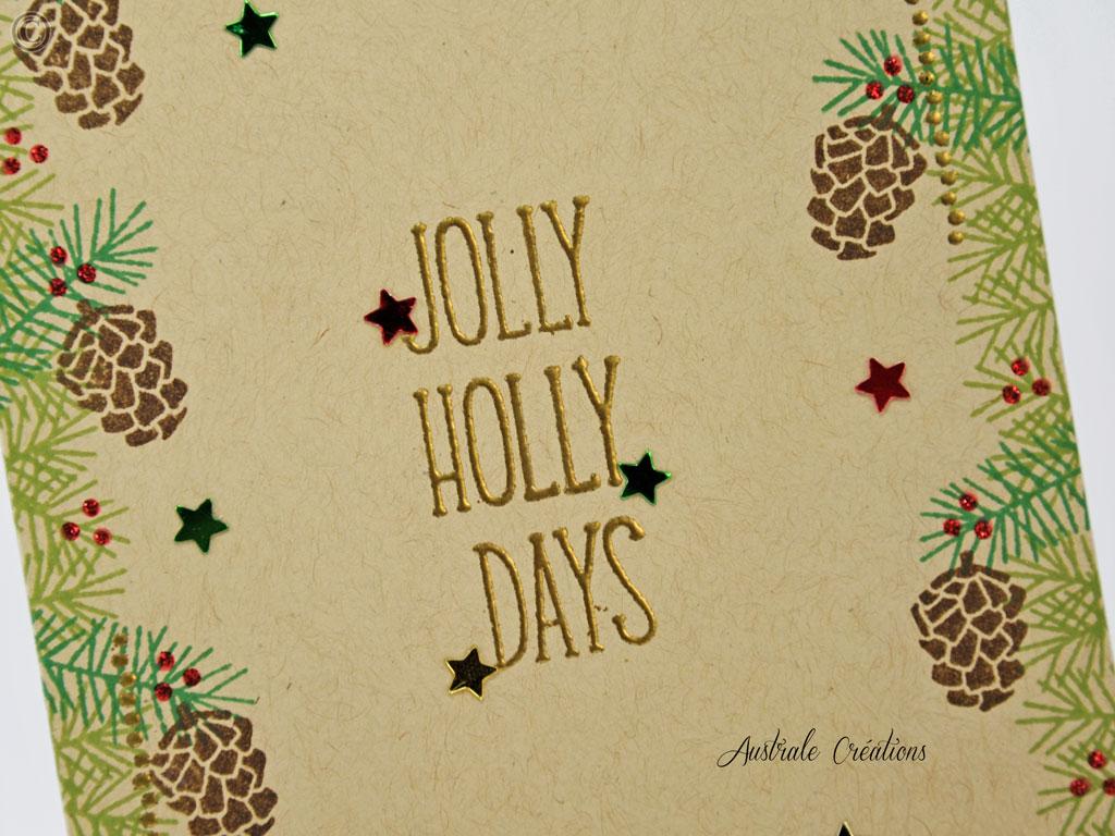 Carte Jolly Holly Days