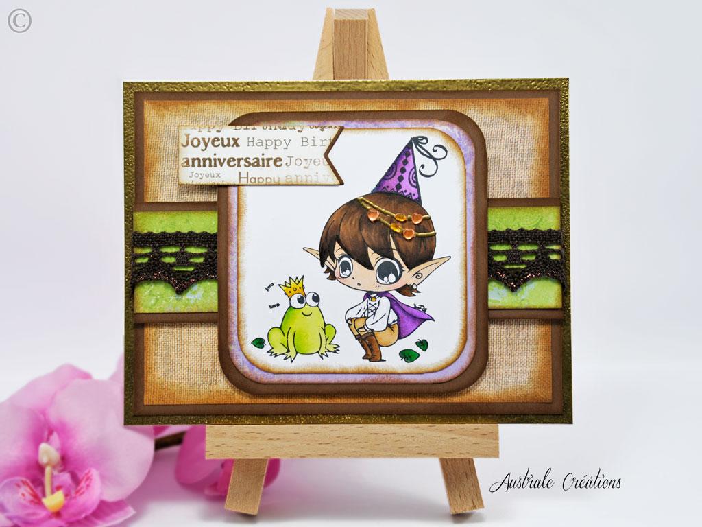 Carte La Grenouille et la Princesse