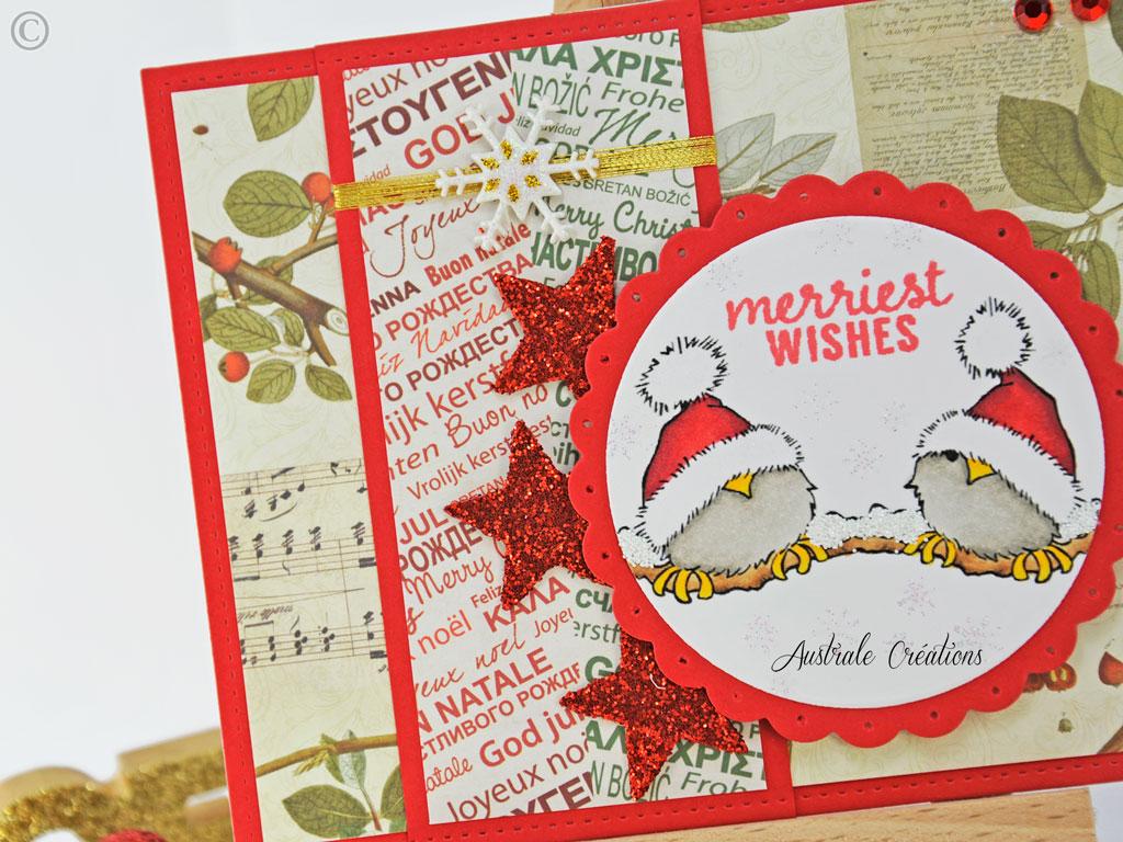 Carte Merriest Wishes
