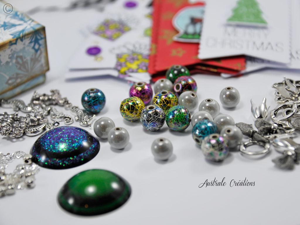 Swap de Noel 2014 : Ce que j'ai envoyé à Lamilia !