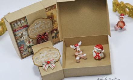 Boites cadeaux avec couvercle Basculant