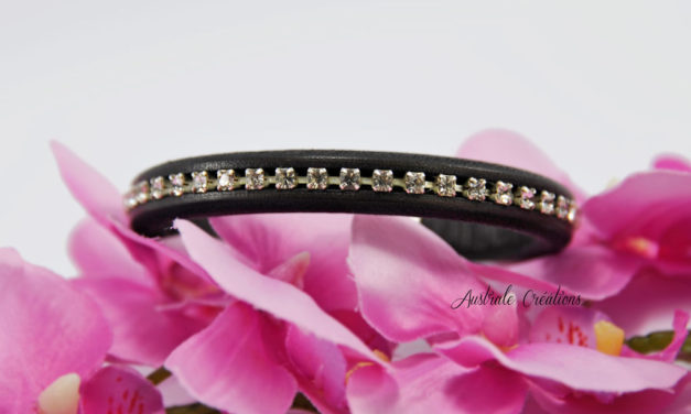 Bracelet «Regaliz» à strass