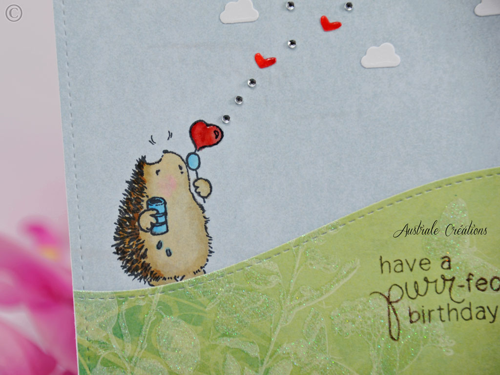 Carte Purrfect Birthday