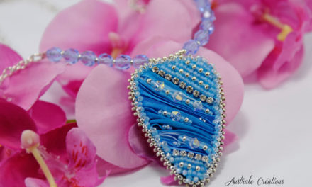 Collier « Sea Blue »