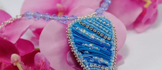 Collier «Sea Blue»