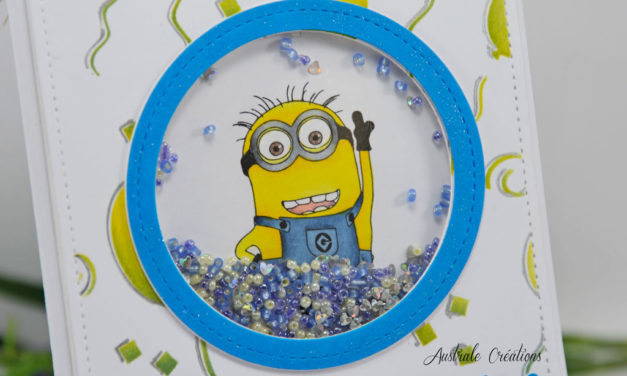 Carte : Birthday Minion Fever