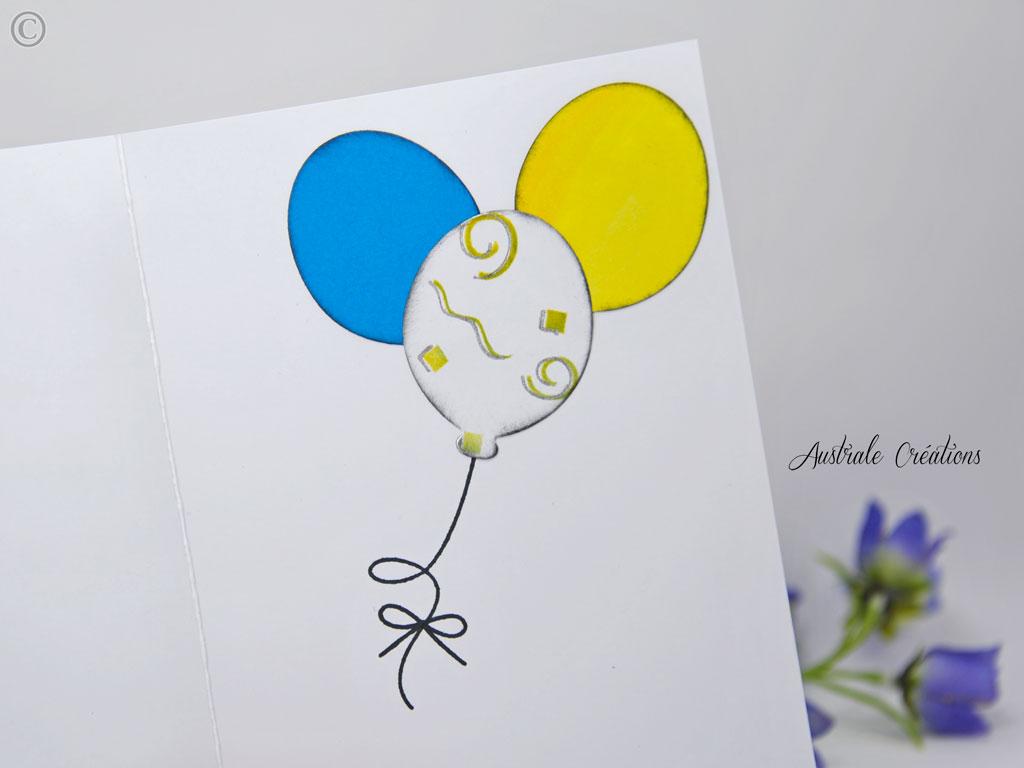 Carte birthday minion fever