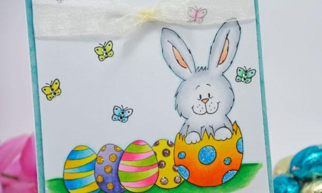 Carte : Bunny in Egg