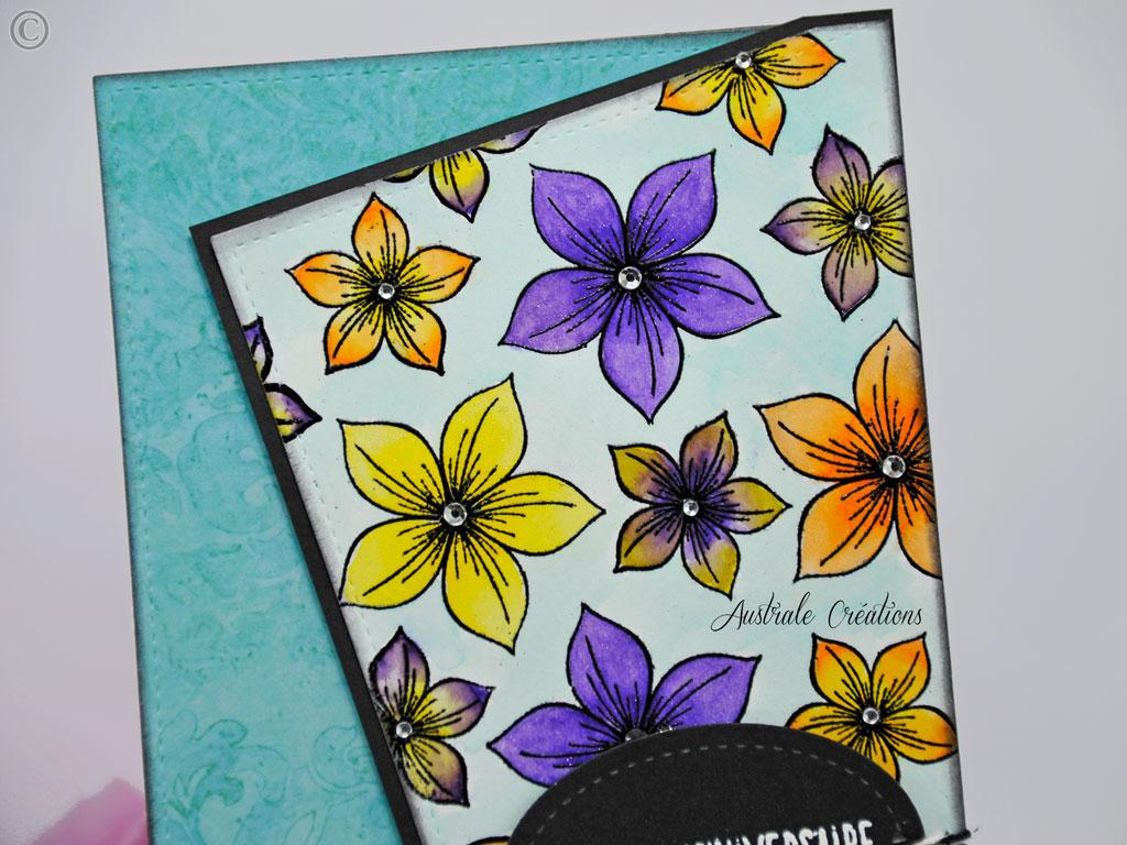 Carte Quelques fleurs