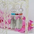 Boucles d'oreilles Feather