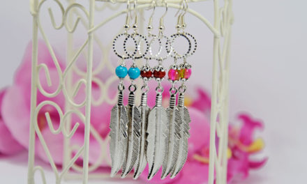 Boucles d'oreilles « Feather »