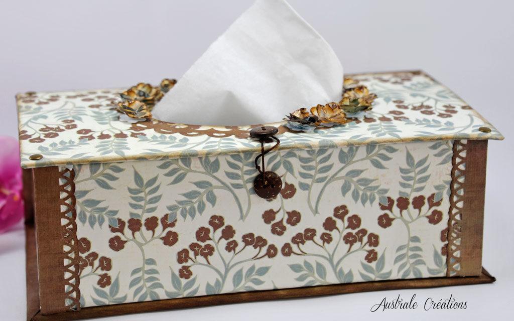 nouveau style et luxe prix bas à bas prix Ma Boite à Mouchoirs | Australe Créations