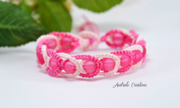 Bracelet «Intertwining» Rose