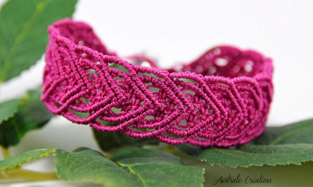 Bracelet «Macramé Heart»