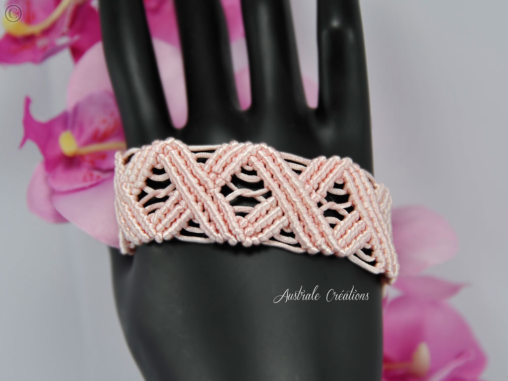 Bracelet Wavy Rose