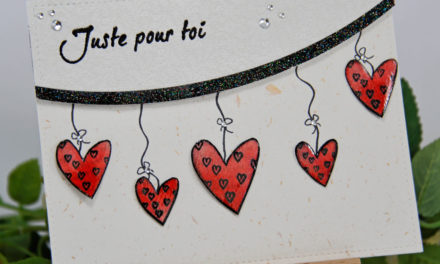 Carte : Cœurs en Fête