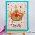 Carte Panier de Roses