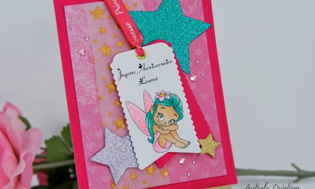 Carte : Little Fairy
