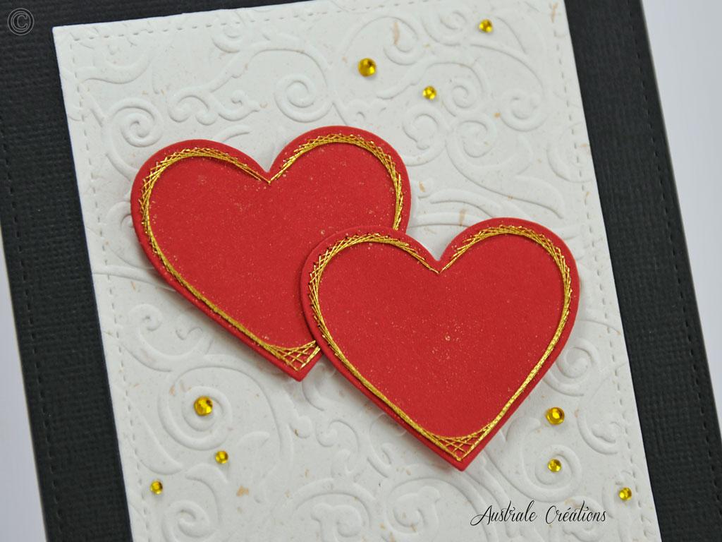 Carte Stitched Together