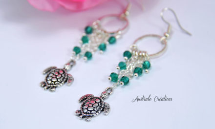 Boucles d'oreilles « Under the Sea »
