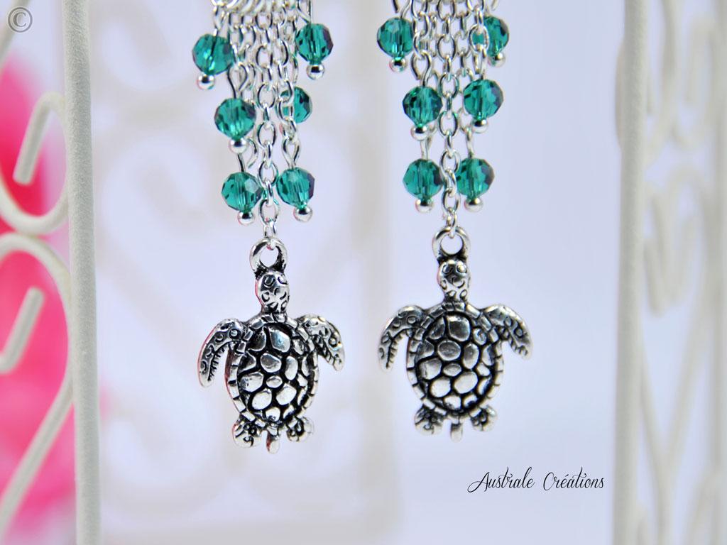 Boucles d'oreilles Under the Sea