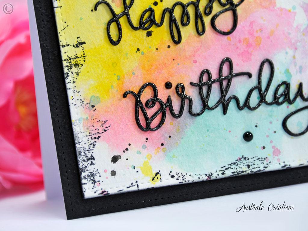 Carte Colors Birthday