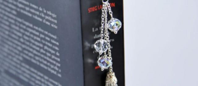 Marque Page «Plume de Cristal»