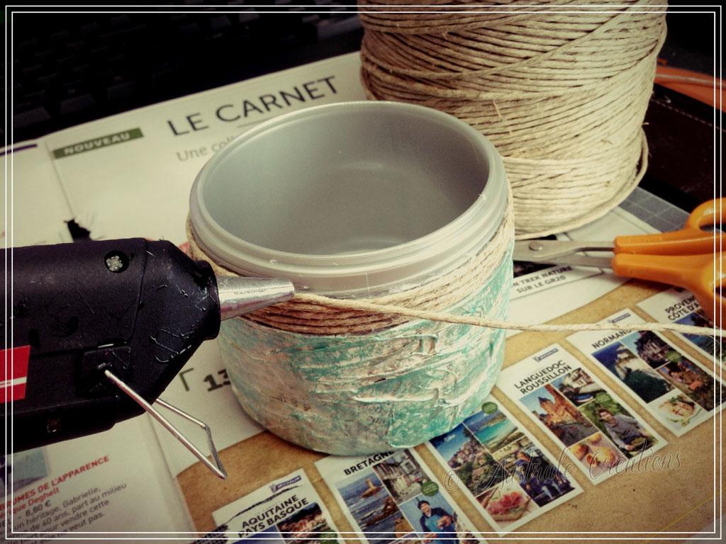 Tutoriel customisation de pot