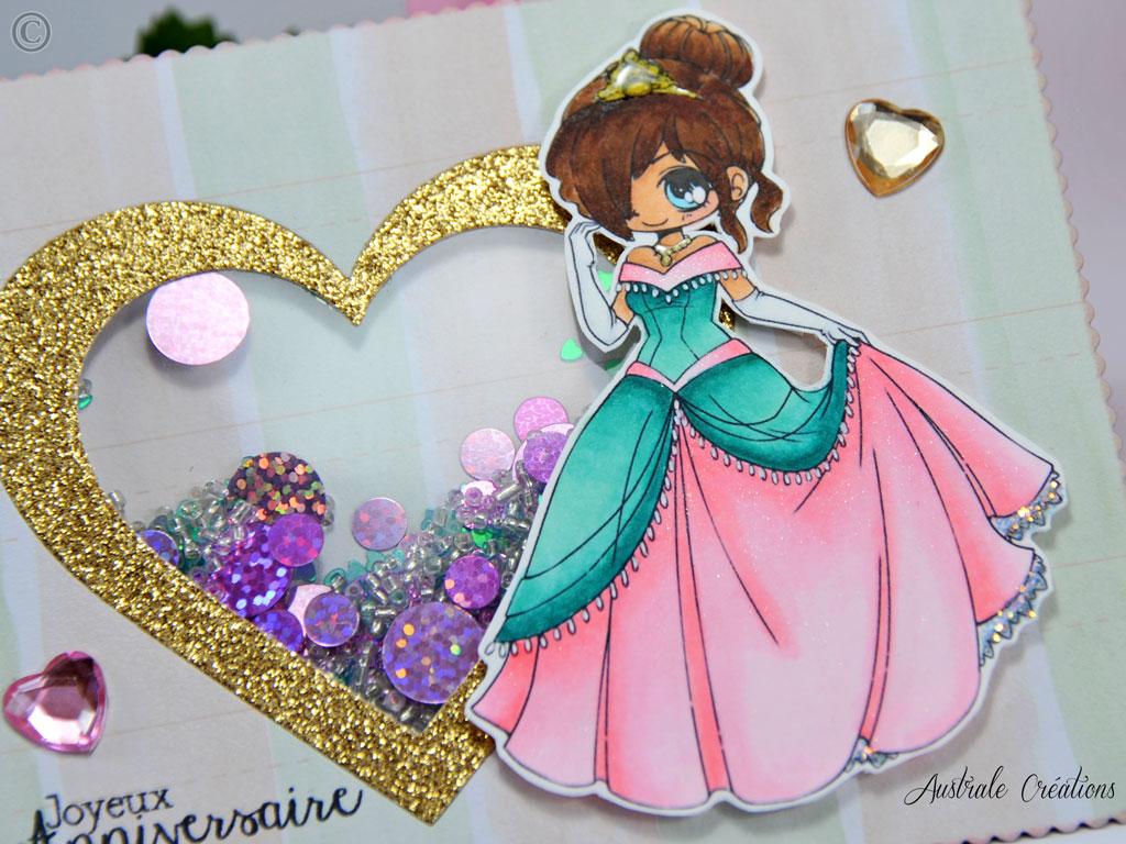 carte : jolie princesse | australe créations