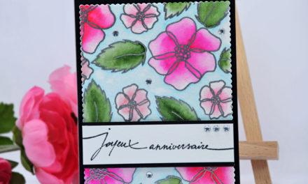 Carte : Magic Flowers