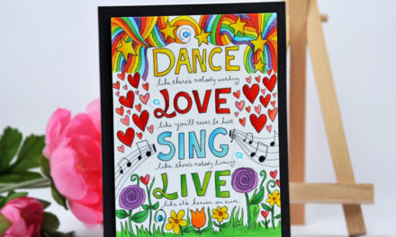 Carte : Dance Love Sing Live