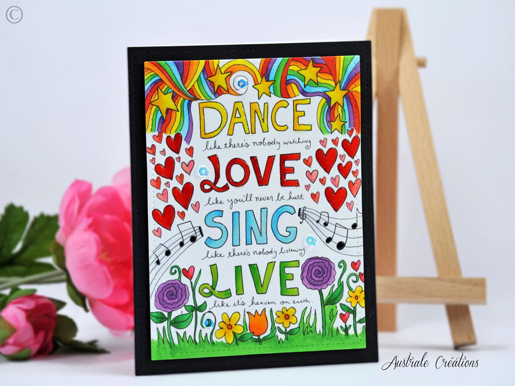 Carte Dance Love Sing Live