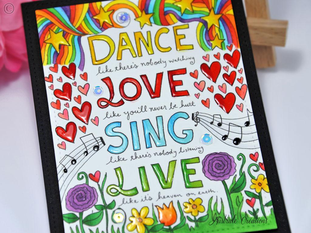 Carte Dance Love Sing Live