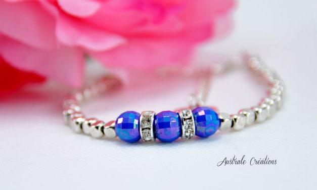 Bracelet «Hope» Bleu