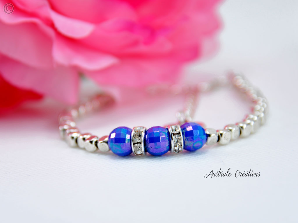 Bracelet Hope Bleu