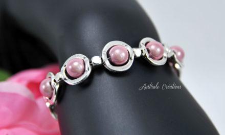 Bracelet «Pink Saturn»