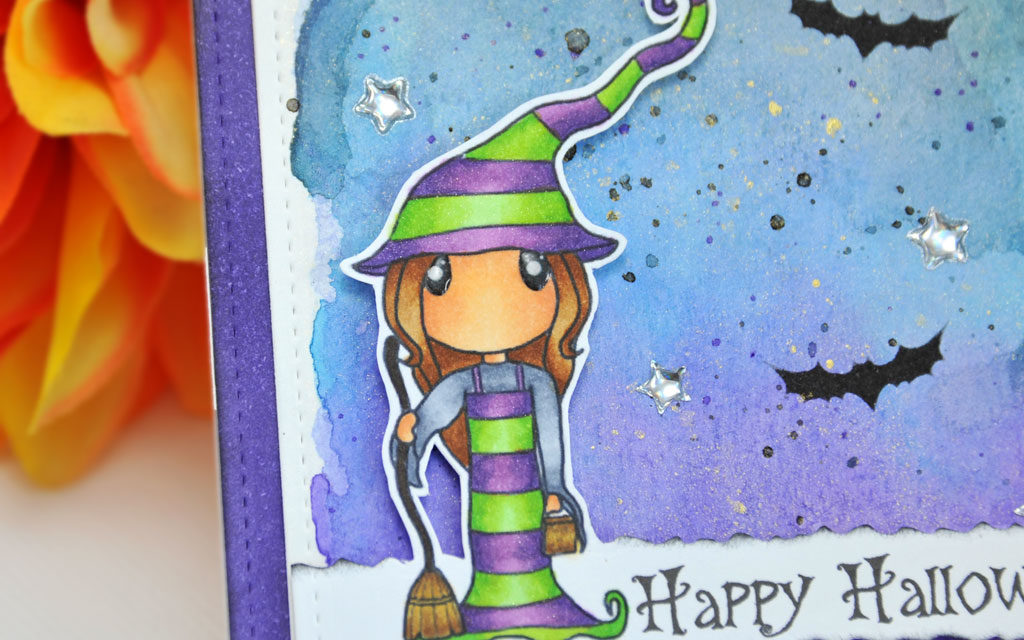 Carte : Happy Witch