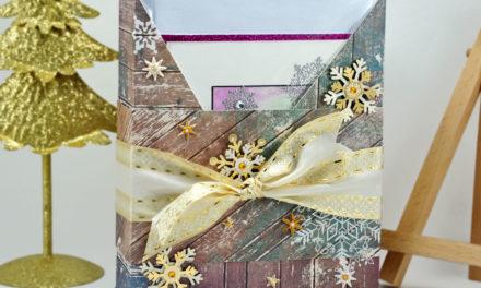 Boite Cadeau pour Cartes de Voeux