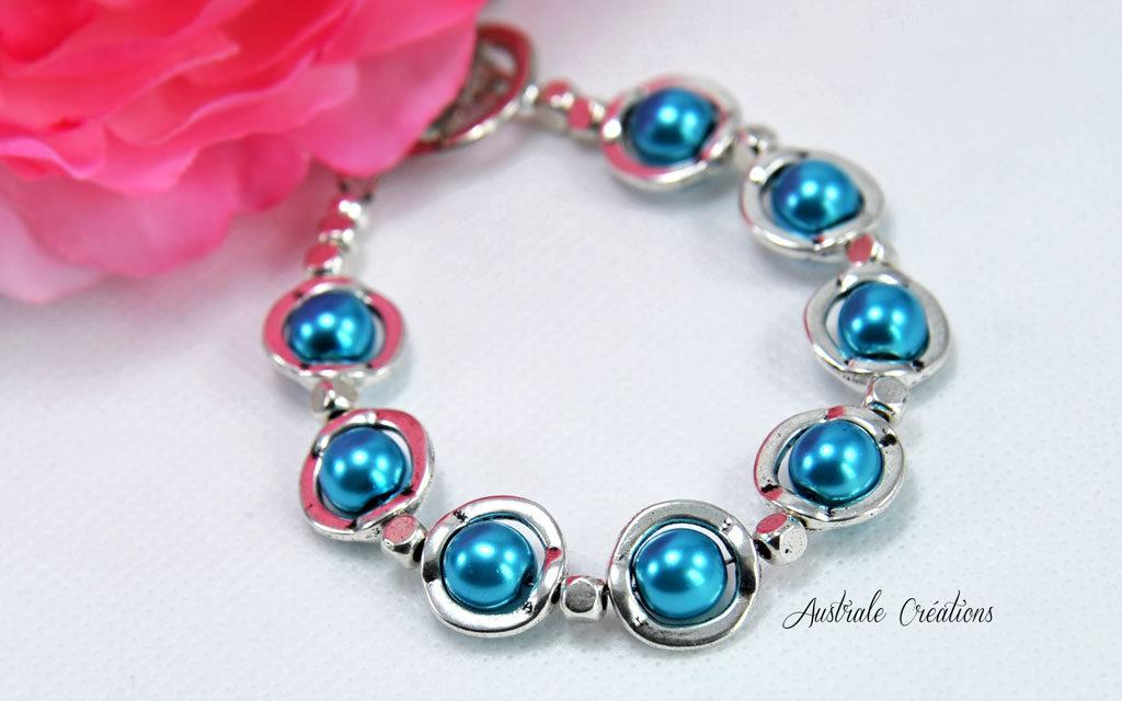 Bracelet «Blue Saturn»